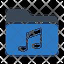 Folder Music Files Icon