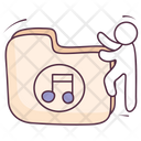 Music Folder File Archive Songs Icon