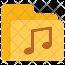 Music Folder Data Icon
