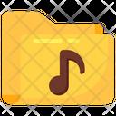 Music Folder Audio Folder Audio Music Icon