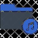 Music Audio Archive Icon