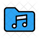 Folder Files Music Icon