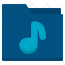 Folder File Song Icon