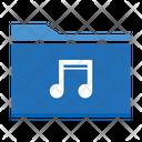 Music Folder Media Folder Data Icon