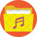 Files Songs Document Icon