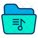 Music File File Folder Icon