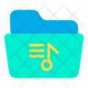 Music File File Folder Icon