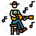 Guitar Music Orchestra Icon