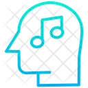 Music In Mind Lyrics Thinking Think About Song Icon