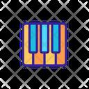 Music Classical Contour Icon