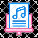 Music Lesson Color Icon
