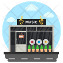Music Library Music Shop Music Studio Icon