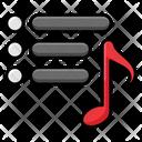 Music List Icon