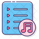 Playlist Music Song Collection Icon