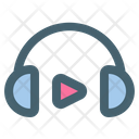 Headphone Music Listen Icon
