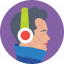 Music Listening Audio Icon