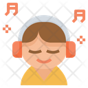 Music Relax Enjoy Icon