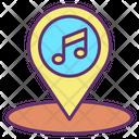 Music Location Icon