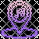 Ilocation Music Location Song Location Icon