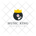 Music King Music Tag Music Label Icon