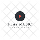 Play Music Music Tag Music Label Icon
