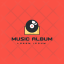Music Album Music Tag Music Label Icon