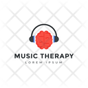 Music Therapy Music Tag Music Label Icon