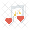Music Song Romance Icon