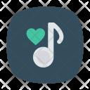 Music Love Audio Icon