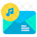Music Mail Icon