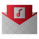 Mail Music Message Icon