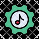 Music Setting Melody Icon