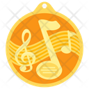 Music Medal Icon