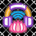 Music Meditation Practice Icon