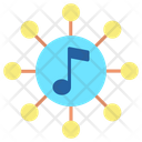 Imusic Network Music Network Music Connection Icon