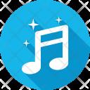 Music Note Lyrics Icon