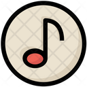 Social Music Note Icon
