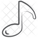 Music Note Audio Eighth Note Icon