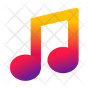 Note Musical Play Icon