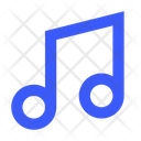 Music Note Eighth Note Music Tone Icon