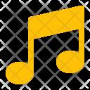 Beam Note Music Icon