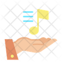 Inotes Hands Music Notes Music Tone Icon