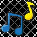 Music Notes Music Quaver Icon