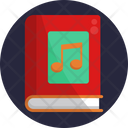 Music Notes Book Icon