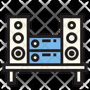 Music Player Sound System Speaker Icon
