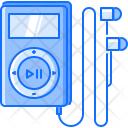 Player Headphones Music Icon