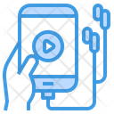 Music Player Audio Learning Icon
