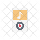 Audio Mp Musicplayer Icon