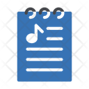 Music List File Icon