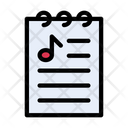 Music List File Icon